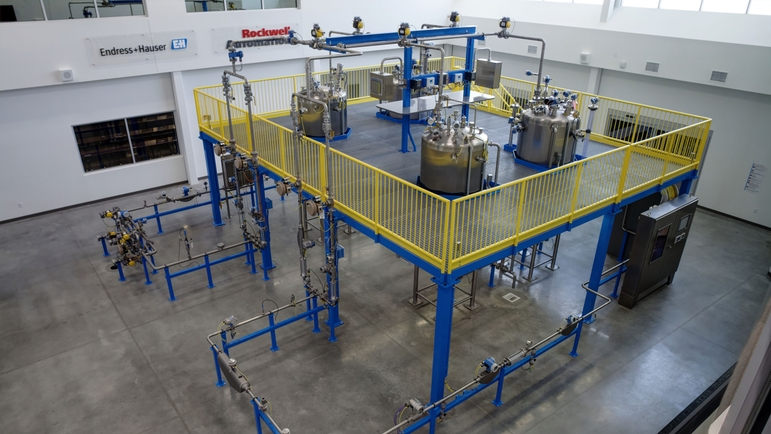 Real-world application expertise: customer training facility and PTU® (Process Training Units).